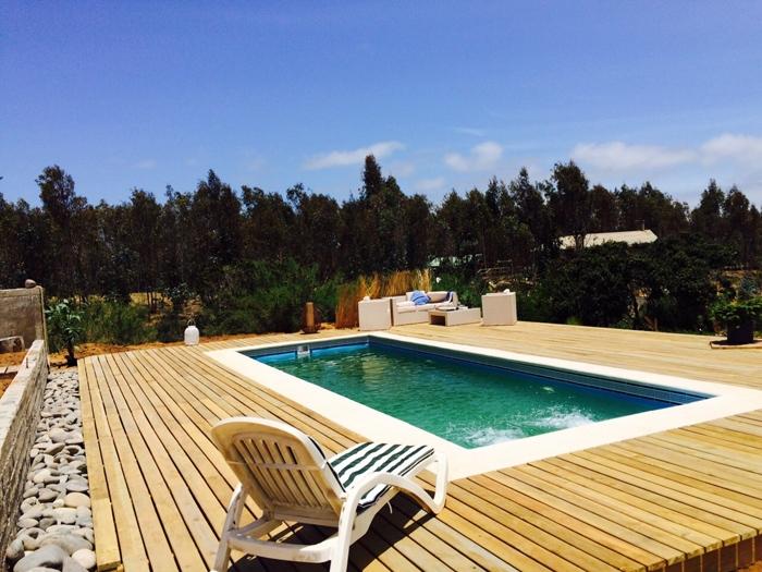 Piscinas de fibra de vidrio mejores precios instalacion y for Precios de piscinas